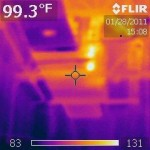 Picture of thermal imaging 007