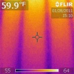 Picture of thermal imaging 009